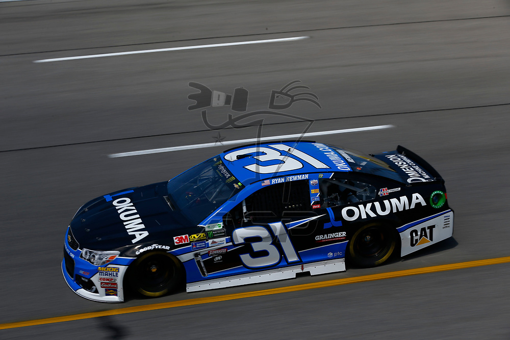 April 28, 2017 - Richmond, Virginia, USA: Ryan Newman (31) takes to the track to practice for the Toyota Owners 400 at Richmond International Speedway in Richmond, Virginia.