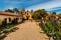 Carmel Mission, Carmel, Monterey County, California USA