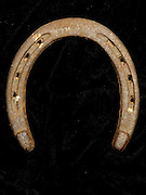 still life of horseshoe outside