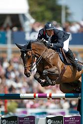 Fontanelle Alexandre, (FRA), Prime Time Des Vagues <br /> Grand Prix Longines<br /> Longines Jumping International de La Baule 2015<br /> © Hippo Foto - Dirk Caremans<br /> 17/05/15