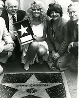 1983 Dyan Cannon's Walk of Fame ceremony