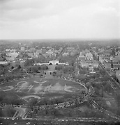 9969-D18. White House and downtown, looking north from the Washington Monument, Washington, DC, March 24-April 1, 1957