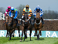 Grand National Meeting - Ladies' Day<br /> e.g. of caption:<br /> National Hunt Horse Racing - 2017 Randox Grand National Festival - Friday, Day Two [Ladies' Day]<br /> <br /> in the Betway Mildmay Novices' Chase (Grade 1) (Class 1) 3m 210y, Good<br /> 5 Runnersat Aintree Racecourse.<br /> <br /> COLORSPORT/WINSTON BYNORTH