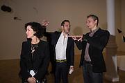 MOLLIE DENT-BROCKLEHURST, ELAN GENTRY; ZILVINAS KEMPINAS;, Pace London presents The Calder Prize 2005-2015, Burlington Gardens, London.  Thursday 11 February 2016,