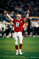 ©Tom DiPace Photography 2005<br /> All Rights Reserverved<br /> 561-968-0600   <br /> Steve Young SF 49ers SuperBowl 1994<br /> MVP of Super Bowl XXIX<br /> By Tom DiPace©