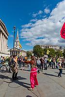 Extiction Rebellion Trafalgar square London photo by Mark Anton Smith