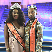 Mr/Miss West Indies UK attend the the Africa Fashion Week London (AFWL) at Freemasons' Hall on 11 August 2018, London, UK.