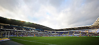 A general view of The Madejski Stadium, home of Reading <br /> <br /> Photographer Kevin Barnes/CameraSport<br /> <br /> Football - The Football League Sky Bet Championship - Reading v Blackpool - Saturday 25th October 2014 - Madejski Stadium - Reading <br /> <br /> © CameraSport - 43 Linden Ave. Countesthorpe. Leicester. England. LE8 5PG - Tel: +44 (0) 116 277 4147 - admin@camerasport.com - www.camerasport.com