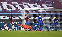 Football - 2020 / 2021 Premier League - West Ham United vs Brighton & Hove Albion - London Stadium<br /> <br /> West Ham United's Ben Johnson (31) scores his side's equalising goal to make the score 1-1.<br /> <br /> COLORSPORT/ASHLEY WESTERN