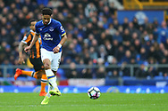 Ashley Williams of Everton in action. Premier league match, Everton v Hull city at Goodison Park in Liverpool, Merseyside on Saturday 18th March 2017.<br /> pic by Chris Stading, Andrew Orchard sports photography.