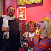 Opening Stip galerie, Henk Schiffmacher