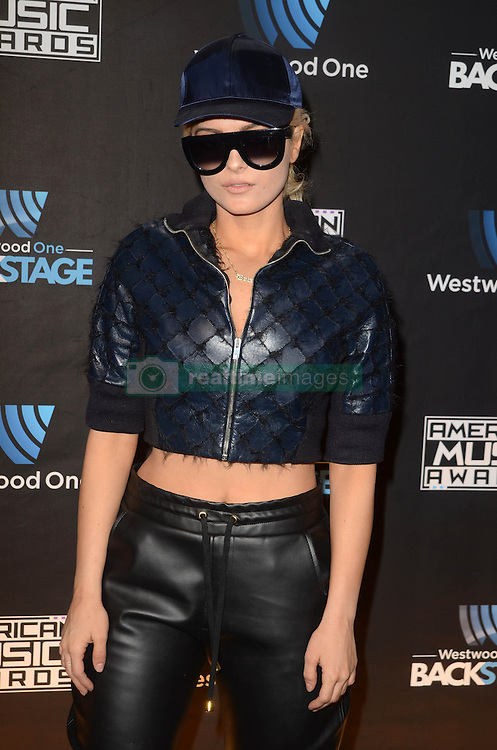 Westwood One Backstage at the American Music Awards Day 2 at the L.A. Live Event Deck. 19 Nov 2016 Pictured: Bebe Rexha. Photo credit: David Edwards / MEGA TheMegaAgency.com +1 888 505 6342