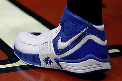 02 December 2006: UT-Arlington sneaker. In a non-conference game, the Mavericks of University of Texas at Arlington lost to the Redbirds home 86-61. The win was the 5th in a row for the Redbirds, the longest winning streak in 6 years. the game was played at Redbird Arena in Normal Illinois on the campus of Illinois State University.<br />  This image available for EDITORIAL USE ONLY. A release may be required. Additional information by contacting alook at alanlook.com