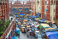 Inde, Bengale Occidental, Calcutta (Kolkata), Chowringhee, environs de New Market // India, West Bengal, Kolkata, Calcutta, Chowringhee, around New Market