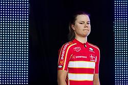 September 23, 2017 - Bergen, NORWAY - 170923 Amalie Dideriksen of Denmark during the award ceremony after the Women Elite Road Race on September 23, 2017 in Bergen..Photo: Jon Olav Nesvold / BILDBYRN / kod JE / 160028 (Credit Image: © Jon Olav Nesvold/Bildbyran via ZUMA Wire)