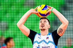 Dejan Vincic of Slovenia during volleyball match between Cuba and Slovenia in Final of FIVB Volleyball Challenger Cup Men, on July 7, 2019 in Arena Stozice, Ljubljana, Slovenia. Photo by Matic Klansek Velej / Sportida