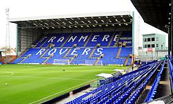 Prenton Park - Photo mandatory by-line: Neil Brookman/JMP - Mobile: 07966 386802 - 08/11/2014 - SPORT - Football - Birkenhead - Prenton Park - Tranmere Rovers v Bristol Rovers - FA Cup - Round One