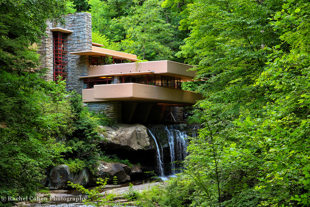 """""""Dreaming of Fallingwater"""" 2<br /> <br /> Beautiful and iconic Fallingwater in summertime!"""