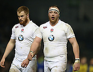 Charlie Beckett (Leicester Tigers) during the 2015 Under 20s 6 Nations match between England and France at the American Express Community Stadium, Brighton and Hove, England on 20 March 2015.