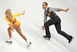 23.03.2010, Torino Palavela, Turin, ITA, ISU World Figure Skating Championships Turin 2010 im Bild Maylin Hausch e Daniel Wende (GER), EXPA Pictures © 2010, PhotoCredit: EXPA/ InsideFoto/ Perottino / SPORTIDA PHOTO AGENCY