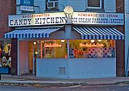 New York, Bridgehampton, Candy Kitchen, South Fork, Long Island, Dusk