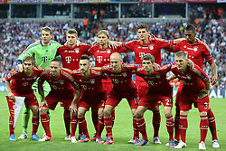19.05.2012, Allianz Arena, Muenchen, GER, UEFA CL, Finale, FC Bayern Muenchen (GER) vs FC Chelsea (ENG), im Bild The Bayern team at the Final Match of the UEFA Championsleague between FC Bayern Munich (GER) vs Chelsea FC (ENG) at the Allianz Arena, Munich, Germany on 2012/05/19. EXPA Pictures © 2012, PhotoCredit: EXPA/ Mitchel Gunn