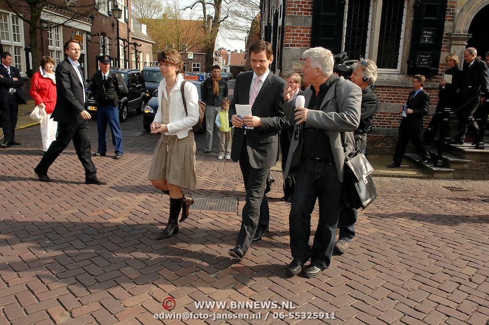 NLD/Naarden/20070406 - Mattheus Passion 2007, Vicepremiere Andre Rouvoet en zijn partner Liesbeth