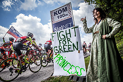 Fans during Stage 3 of 24th Tour of Slovenia 2017 / Tour de Slovenie from Celje to Rogla (167,7 km) cycling race on June 16, 2017 in Slovenia. Photo by Vid Ponikvar / Sportida