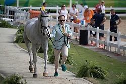 Tinney Stuart, AUS, Pluto Mio<br /> Final Horse inspection Eventing<br /> Olympic Games Rio 2016<br /> © Hippo Foto - Dirk Caremans<br /> 09/08/16