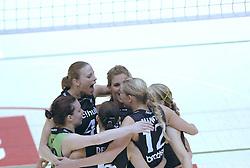 05-03-2006 VOLLEYBAL: FINAL 4 HEREN:  ORION - ORTEC NESSELANDE: ROTTERDAM<br /> In een mooie finale was Nesselande in 3 sets te sterk voor Orion / Chaine Staelens<br /> Copyrights2006-WWW.FOTOHOOGENDOORN.NL