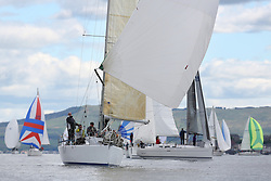 The Silvers Marine Scottish Series 2014, organised by the  Clyde Cruising Club,  celebrates it's 40th anniversary.<br /> Day 1 GBR5991T, Prime Suspect, Charlie Frize, CCC, Mills 36.<br /> <br /> Racing on Loch Fyne from 23rd-26th May 2014<br /> <br /> Credit : Marc Turner / PFM