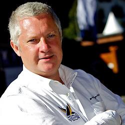 Jim O'Toole, Chief Executive Officer of WMRT. St Moritz Match Race 2010. World Match Racing Tour. St Moritz, Switzerland. 1st September 2010. Photo: Ian Roman/WMRT.