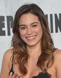 August 30, 2018 - Los Angeles, California, USA - 8/28/18.Stephanie Arcila at the premiere of ''Peppermint'' held at the Regal Cinemas LA Live in Los Angeles, CA, USA. (Credit Image: © Starmax/Newscom via ZUMA Press)