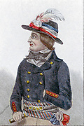 Lazare Nicolas Marguerite Carnot (1753-1823) French revolutionary; member of National Convention; organiser of victory in the French Revolutionary Wars.