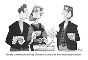 'But the commercialisation of Christmas is one of its most enduring traditions'