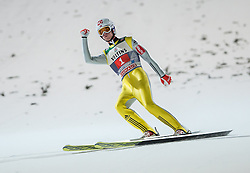 27.12.2016, Schattenbergschanze, Oberstdorf, GER, FIS Weltcup Ski Sprung, Vierschanzentournee, Oberstdorf, Wertungsdurchgang, im Bild Daniel Andre Tande (NOR) // Daniel Andre Tande of Norway during his Competition Jump for the Four Hills Tournament of FIS Ski Jumping World Cup at the Schattenbergschanze in Oberstdorf, Germany on 2016/12/27. EXPA Pictures © 2016, PhotoCredit: EXPA/ Peter Rinderer