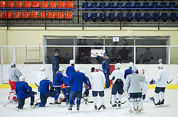Matjaz Kopitar, head coach during practice session of Slovenian Men's National Ice Hockey Team before EIHC tournament 2015 in Wien, on February 3, 2015 in Ledna dvorana, Bled, Slovenia. Photo by Vid Ponikvar / Sportida
