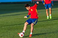 Jorge Mere during the training of Spanish national team under 21 at Ciudad del El futbol  in Madrid, Spain. March 21, 2017. (ALTERPHOTOS / Rodrigo Jimenez)