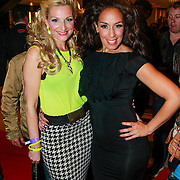NLD/Amsterdam/20130526 - Toppers in Concert 2013, Venga Boys, Denise van Rijswijk, zwangere Kim Sasabone,