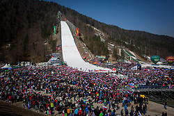 Jumpin hill during the Ski Flying Hill Men's Team Competition at Day 3 of FIS Ski Jumping World Cup Final 2017, on March 25, 2017 in Planica, Slovenia. Photo by Ziga Zupan / Sportida
