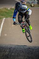 #380 (DE SOUZA FILHO Anderson Ezequiel) BRA during practice at Round 9 of the 2019 UCI BMX Supercross World Cup in Santiago del Estero, Argentina