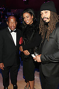 November 3, 2012- New York, NY: (L-R) U.S. Congressman John Lewis, Beverly Bond, President & CEO, Black Girls Rock and Recording Artist Bazaar Royale at the EBONY Power 100 Gala Presented by Nationwide held at Jazz at Lincoln Center on November 3, 2012 in New York City. The EBONY Power 100 Gala Presented by Nationwide salutes the country's most influential African Americans.(Terrence Jennings) .