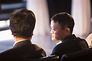 Jack Ma, chairman of the Alibaba Group, attends an event promoting the 11.11 shopping festival at the Alibaba Group Holding Ltd. headquarters in Hangzhou, China, on Tuesday, Oct. 13, 2015