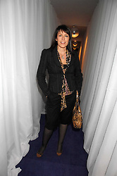 Actress FAY RIPLEY at a party to celebrate the launch of the new purple Sony Ericsson K770i phone held at the Bloomsbury Ballroom, Bloomsbury Square, London on 24th October 2007.<br /><br />NON EXCLUSIVE - WORLD RIGHTS