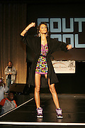 Jeslene Gonzalez at the South Pole Fashion show during ' The Stay in School Concert ' facilated by Entertainers for Education held at The Manhattan Center on October 28, 2008 in New York City