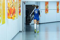 19-10-2018 JPN: Semi Final World Championship Volleyball Women day 20, Yokohama<br /> Serbia - Netherlands / Maja OgnjenovicC #10 of Serbia