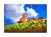 Bella Vista vineyard sample WineArt card