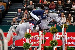 Kuhner Max, AUT, Neugschwent's Castella<br /> Leipzig - Partner Pferd 2018<br /> CSI-W 5* IDEE Kafee Preis<br /> © Hippo Foto - Stefan Lafrentz