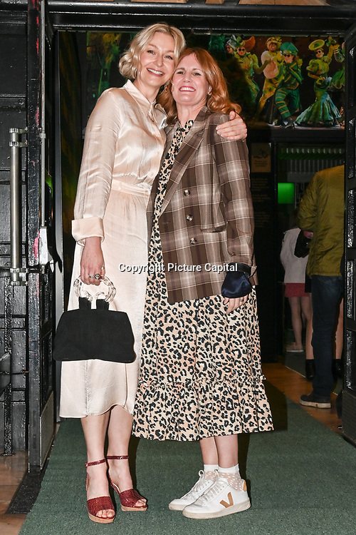 Darcey Bussell attended, A Gala Performance of Wicked. In celebration of its 15th Anniversary in London at Apollo Victoria Theatre, London, UK. on 28th September 2021.