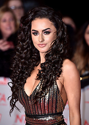Amber Davies attending the National Television Awards 2018 held at the O2 Arena, London. PRESS ASSOCIATION Photo. Picture date: Tuesday January 23, 2018. See PA story SHOWBIZ NTAs. Photo credit should read: Matt Crossick/PA Wire